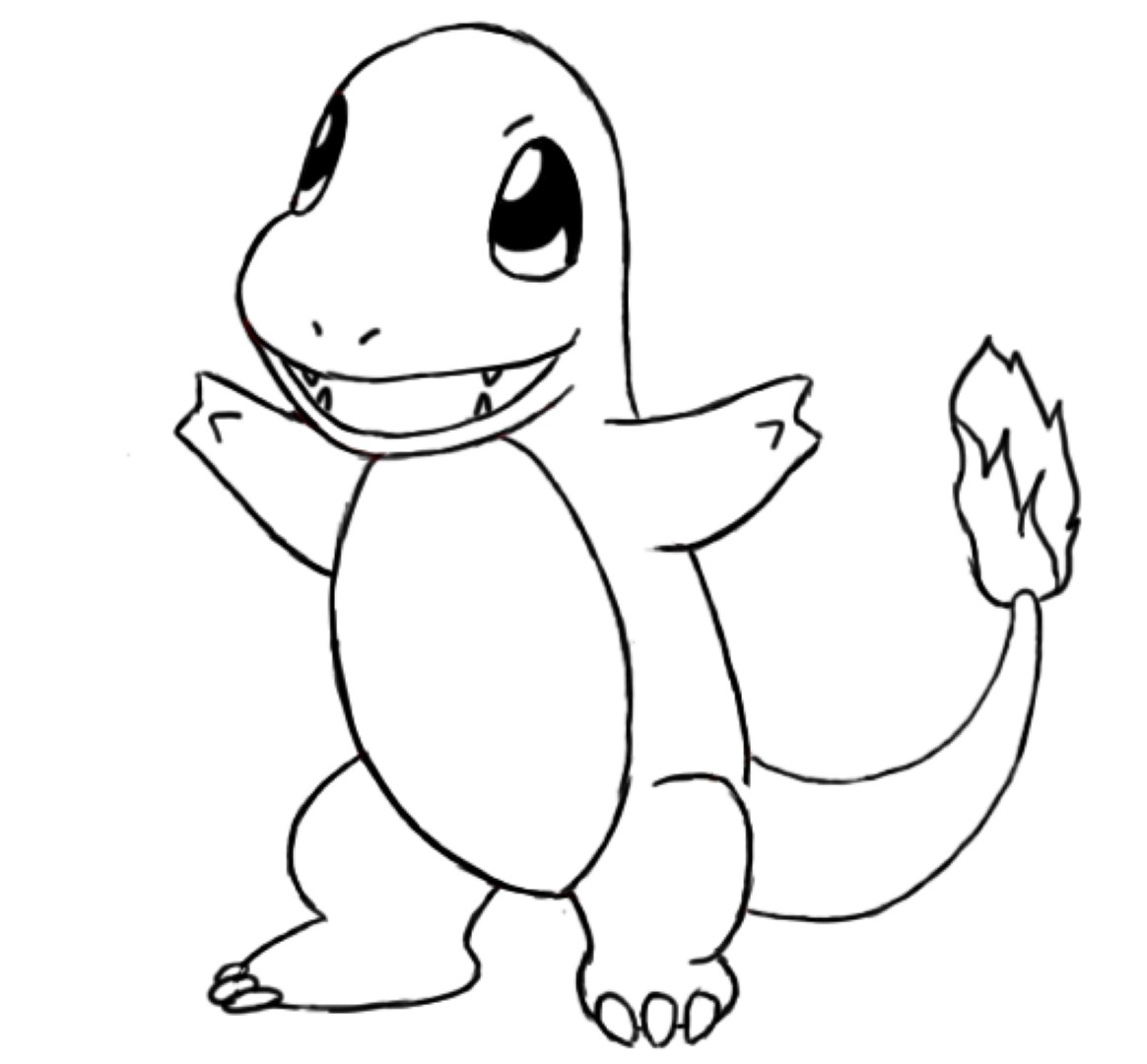 charmander bulbasaur squirtle coloring pages - photo#34