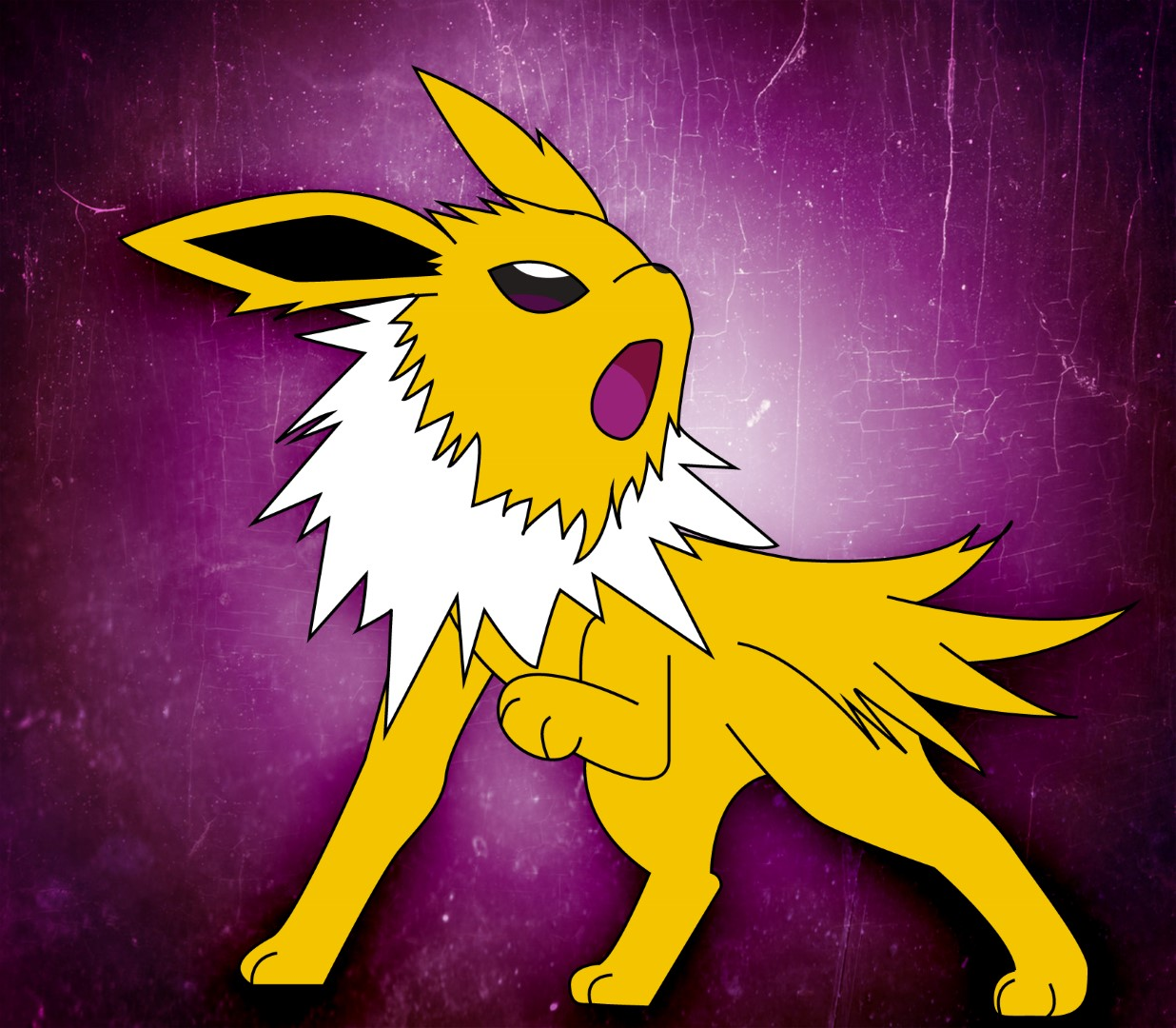 How To Draw Jolteon 10 Pictures Pin On Pinterest
