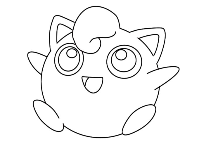 Pokemon Jigglypuff Coloring Pages Images Pokemon Images Jigglypuff Coloring Pages